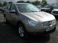 USED 2009 09 NISSAN QASHQAI 1.5 ACENTA DCI 5d 105 BHP 2 Previous owners - Reverse sensors - Cruise control