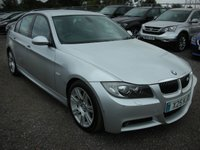 2007 BMW 3 SERIES 3.0 325D M SPORT 4d AUTO 195 BHP SOLD