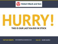 USED 2014 14 KIA RIO 1.2 1 5d 83 BHP LOVELY 5 DOOR KIA RIO IN WHITE