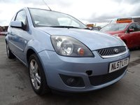 USED 2007 57 FORD FIESTA 1.2 ZETEC CLIMATE GREAT FIRST CAR