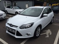 USED 2014 14 FORD FOCUS 1.6 TITANIUM NAVIGATOR 5d AUTO 124 BHP LOW MILEAGE AUTOMATIC