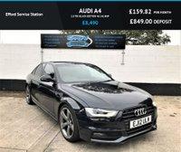 2012 AUDI A4 2.0 TDI BLACK EDITION 4d 141 BHP £8490.00