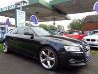2009 AUDI A5 2.0 TDI SPORT 2d 168 BHP FULL BLACK LEATHER £6995.00