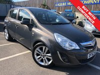 USED 2013 62 VAUXHALL CORSA 1.2 SE 5d 83 BHP PART LEATHER TRIM