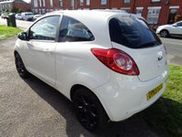 USED 2015 65 FORD KA 1.2 ZETEC WHITE EDITION 3d 69 BHP BLUETOOTH