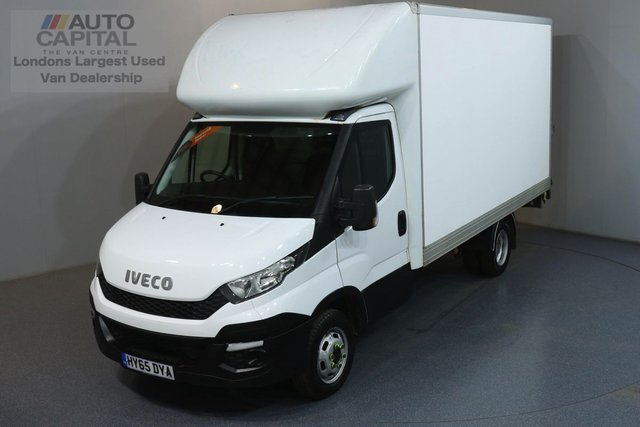 2015 65 IVECO DAILY 2.3 35C13 126 BHP RWD TWIN WHEEL LWB TAIL LIFT LUTON ONE OWNER, FULL SERVICE HISTORY