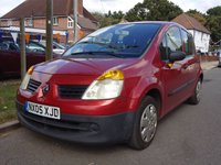 USED 2005 05 RENAULT MODUS 1.1 AUTHENTIQUE 5door *Spares or Repairs* REQUIRES A NEW CLUTCH