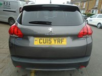 USED 2015 15 PEUGEOT 2008 1.6 BLUE HDI S/S ALLURE 5d 100 BHP, ULEZ EXEMPT ONLY 26,000 MILES!