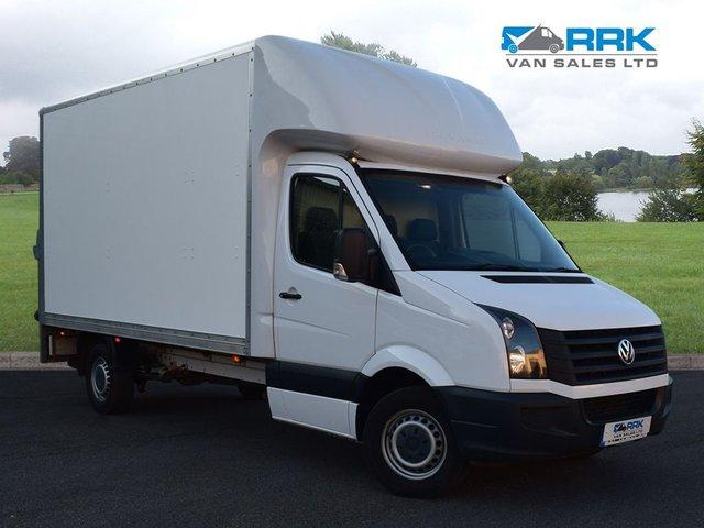 2016 16 VOLKSWAGEN CRAFTER 2.0 CR35 TDI C/C  109 BHP Luton Van