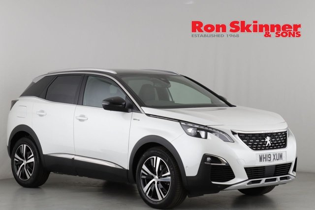 View our 2019 19 PEUGEOT 3008 1.5 BLUEHDI S/S GT LINE 5d 129 BHP