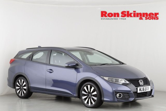 View our 2016 16 HONDA CIVIC 1.8 I-VTEC SE PLUS NAVI TOURER 5d AUTO 140 BHP