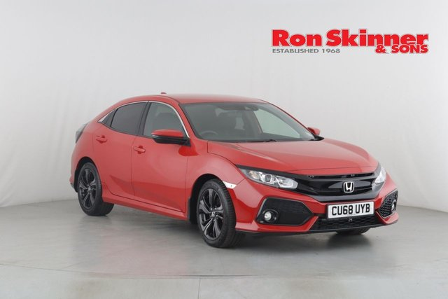 View our 2018 68 HONDA CIVIC 1.6 I-DTEC SR 5d AUTO 118 BHP