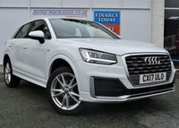 USED 2017 17 AUDI Q2 2.0 TDI QUATTRO S LINE 5d Family SUV 4x4 AUTO Stunning in White and Great High Spec Recent Service and Ready to Finance and Drive Away Today 1 FORMER KEEPER