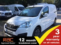 USED 2018 68 PEUGEOT PARTNER L1 850 Professional 100ps (Look Pack, Front PDC & Folding Mirrors)