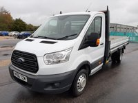 2016 FORD TRANSIT DROPSIDE 350 L4 DRW 125ps 1-Stop £13995.00