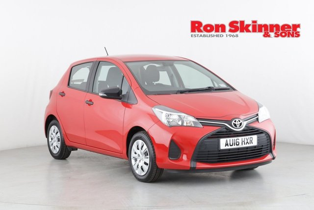 View our 2016 16 TOYOTA YARIS 1.0 VVT-I ACTIVE 5d 69 BHP