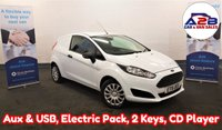 USED 2015 15 FORD FIESTA 1.5 TDCI in White with Service History (5 Stamps), 2 Keys, CD Player, Electric Pack ** Drive Away Today** Over The Phone Low Rate Finance Available, Just Call us on 01709 866668 **