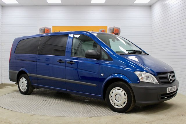 USED 2011 11 MERCEDES-BENZ VITO 2.1 113CDI Traveliner Extra Long Bus 5dr (EU5, 8 Seats) NO VAT*1 OWNER*8 SEATS*F/M/S/H