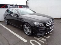 USED 2017 17 MERCEDES-BENZ E CLASS 2.0 E 220 D AMG LINE 5 door AUTO 192 BHP black £493 A Month Satalite Navigation  Fully Loaded Amg Line G-Tronic Half Leather Full Service History