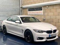 2013 BMW 4 SERIES 2.0 420i M Sport Coupe 2dr Petrol Manual (147 g/km, 184 bhp) £13989.00