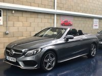 USED 2018 67 MERCEDES-BENZ C CLASS 2.1 C220d AMG Line (Premium Plus) Cabriolet 2dr Diesel G-Tronic+ 4MATIC (s/s) (170 ps) +FULL SERVICE+WARRANTY+FINANCE