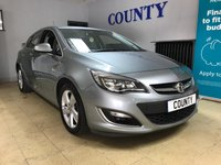 USED 2013 63 VAUXHALL ASTRA 1.4 SRI 5d 138 BHP * FULL HISTORY * LONG MOT *