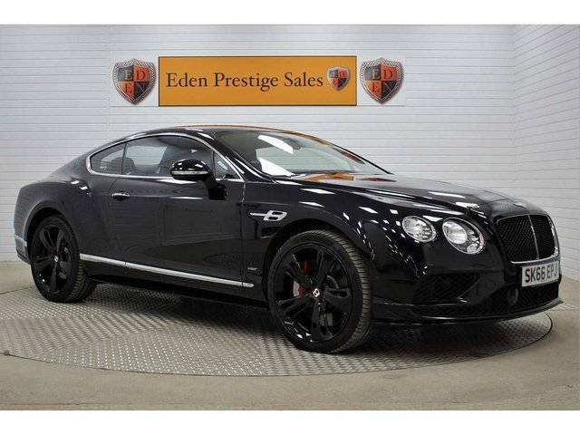 USED 2016 66 BENTLEY CONTINENTAL 4.0 V8 GT S Auto 4WD 2dr *HUGE SPEC*MULLINER DRIVE*
