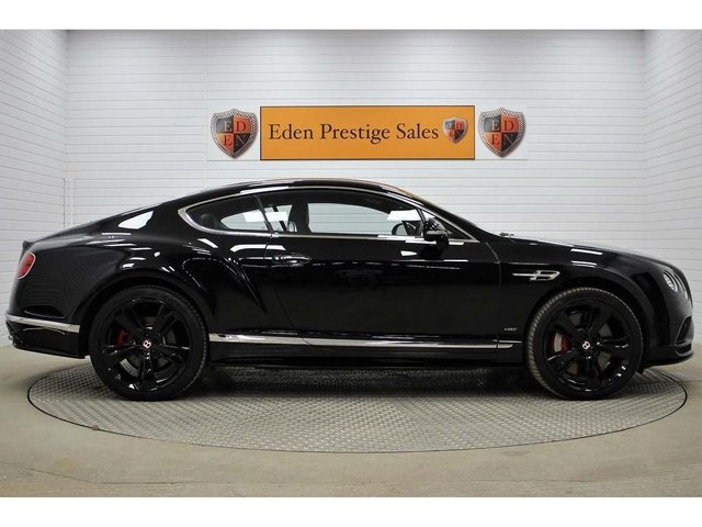 USED 2016 66 BENTLEY CONTINENTAL 4.0 V8 GT S Auto 4WD 2dr
