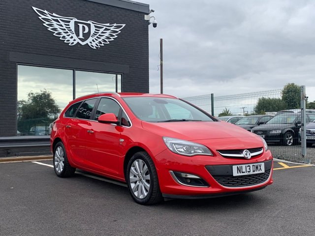 USED 2013 13 VAUXHALL ASTRA 2.0 SE CDTI S/S 5d 163 BHP AA WARRANTY,  MOT AND SERVICE INCLUDED