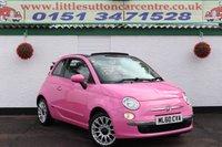 2010 FIAT 500 1.2 C POP 3d 69 BHP £4600.00