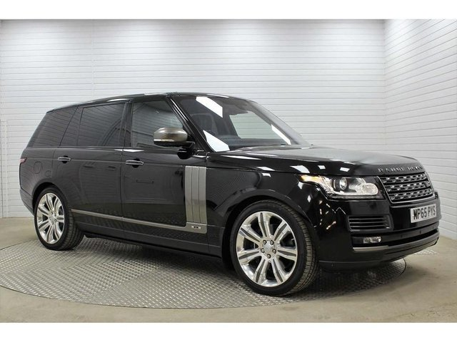 "USED 2015 65 LAND ROVER RANGE ROVER 5.0 V8 SV Autobiography Auto 4WD (s/s) 5dr LWB *R/ENT*D/SIDE-STEPS*22""ALLOYS*"