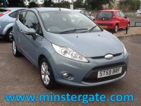 2009 FORD FIESTA 1.2 ZETEC 3d 81 BHP * 70000 MILES, GOOD SPEC, ECONOMICAL * £2990.00