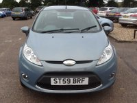 USED 2009 59 FORD FIESTA 1.2 ZETEC 3d 81 BHP * 70000 MILES, GOOD SPEC, ECONOMICAL * 70000  MILES, GOOD SPEC., ECONOMICAL