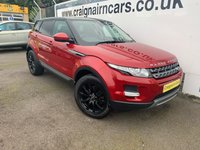 2015 LAND ROVER RANGE ROVER EVOQUE 2.2L SD4 PURE TECH 5d AUTO 190 BHP £20995.00