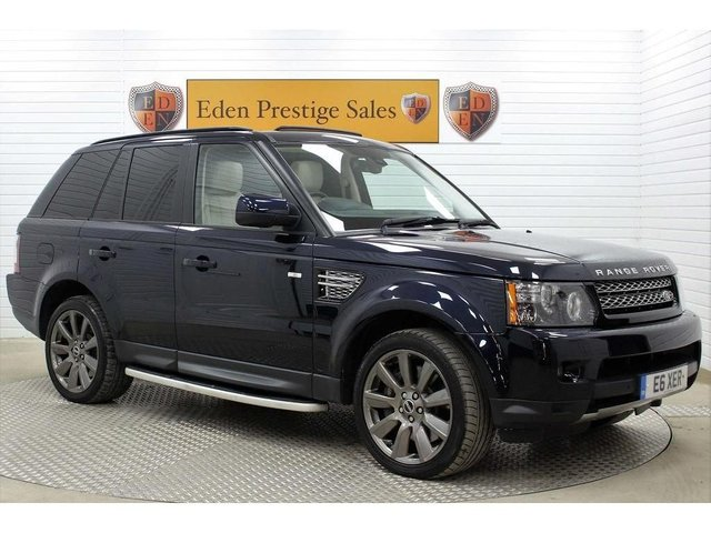 USED 2011 LAND ROVER RANGE ROVER SPORT 5.0 V8 Supercharged HSE 5dr *1 OWN*F/S/H*H/KARDON*
