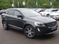 USED 2013 63 VOLVO XC60 2.4 D4 SE LUX AWD 5d AUTO 161 BHP GX 18in GREY ALLOYS*HTD LTHR MEMORY SEATS*AWD*FSH*