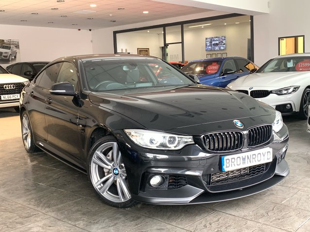 USED 2015 65 BMW 4 SERIES GRAN COUPE 3.0 435D XDRIVE M SPORT GRAN COUPE 4d AUTO 309 BHP BM PERFORMANCE STYLING+SAT NAV