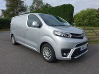 USED 2018 18 TOYOTA PROACE L1 SWB COMFORT 1.6TDCI 115 BHP Stunning Looking Toyota Proace With 12000 Miles And Ballane Of 5 Year Toyota Warranty Till July 2023, Many Extras Including Air Con, Cruise & Parking Sensors!