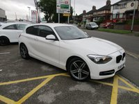 USED 2013 63 BMW 1 SERIES 2.0 116D SPORT 3d 114 BHP Nicely Presented Example