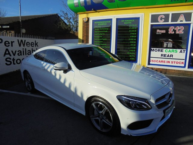 USED 2016 16 MERCEDES-BENZ C CLASS 2.1 C 250 D AMG LINE 2d AUTO 201 BHP **FULL SERVICE HISTORY..JUST ARRIVED**