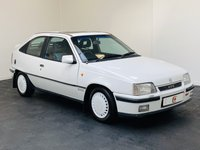 USED 1991 H VAUXHALL ASTRA 2.0 GTE 3d 150 BHP LOW MILES + SERVICE HISTORY + GOOD CONDITION