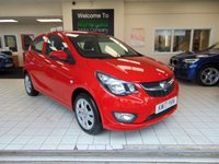 USED 2017 17 VAUXHALL VIVA 1.0 SE 5d 74 BHP FULL SERVICE HISTORY + 1ST MOT DUE MAY 2020 + VAUXHALL WARRANTY UNTIL MAY 2020 + BLUETOOTH + CRUISE CONTROL + AIR CONDITIONING + ONLY £20 ROAD TAX + R300 BT RADIO +