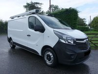 USED 2016 16 VAUXHALL VIVARO 2700 L1 SWB 1.6 CDTI 115 BHP Direct From Leasing Company With Only 31000 Miles Many Extras Including Electric Windows & Mirrors, Park Sensors & Quality Internal Racking