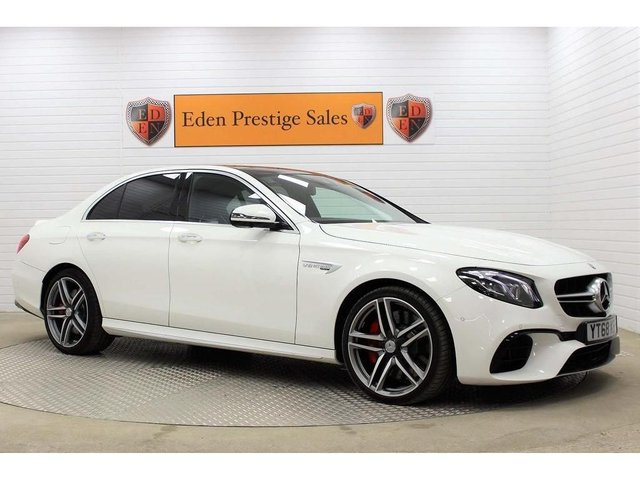 USED 2018 68 MERCEDES-BENZ E CLASS 4.0 E63 V8 BiTurbo AMG S SpdS MCT 4MATIC+ (s/s) 4dr *360 CAM*AS NEW *1 PVT OWNER*