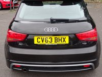 USED 2019 63 AUDI A1 1.6 TDI S LINE 3d 109 BHP HALF  LEATHER S-LINE UPHOLSTERY WIITH LOW MILEAGE AND SERVICE HISTORY £20 RD TAX