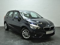 USED 2015 64 BMW 2 SERIES 2.0 218D SE ACTIVE TOURER 5d AUTO 148 BHP 1 OWNER + FULL BMW HISTORY + FULL HEATED LEATHER + SAT NAV