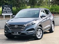 USED 2018 68 HYUNDAI TUCSON 1.7 CRDI S BLUE DRIVE 5d 114 BHP Nov 2018, Delivery miles, Bluetooth, Choice of Black / grey / white