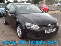 2013 VOLKSWAGEN GOLF 1.6 SE TDI BLUEMOTION TECHNOLOGY 5d 103 BHP * 30000 MILES * £7990.00