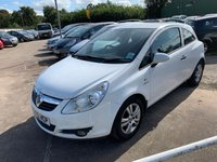 USED 2010 60 VAUXHALL CORSA 1.2 ENERGY 3d 83 BHP SERVICE HISTORY