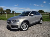 USED 2012 12 AUDI Q3 2.0 TDI SE 5d 138 BHP ONLY 1 OWNER FROM NEW WITH FULL SERVICE HISTORY